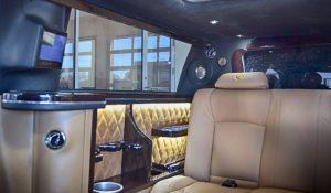 TAG 2012 Armored S80 Volvo Interior Luxury