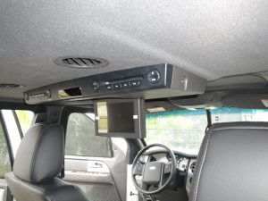 TAG Armored Ford Expedition DVD System