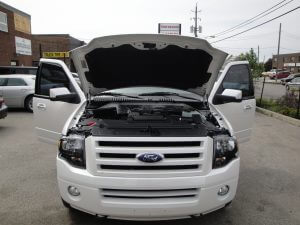 TAG Armored Ford Expedition Engine