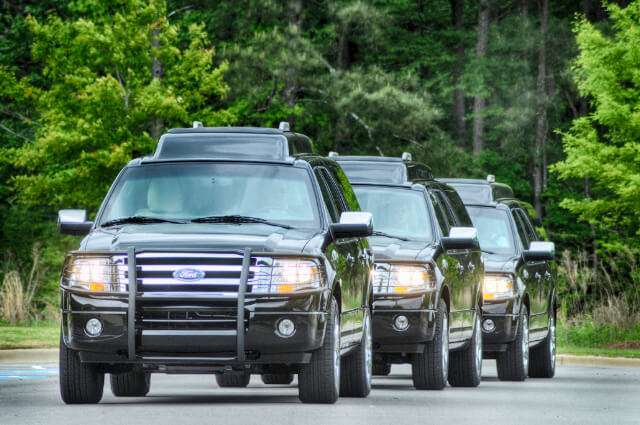 Picture of Ford Expedition Presidential SUV fleet