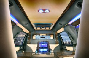 TAG Armored Ford Expedition Luxury Interior