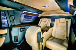 TAG Armored Ford Expedition Presidential Seating