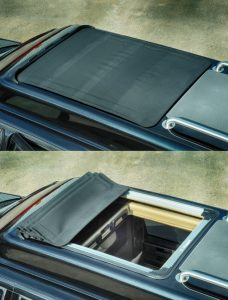 TAG Armored Ford Expedition Sun Roof Moon Bullet Proof Cover Open
