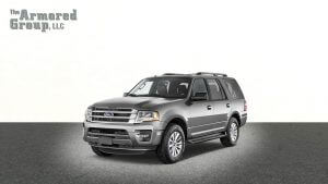 TAG Silver armored Ford Expedition SUV passenger vehicle picture