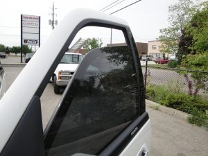 TAG Armored Ford Expedition Front Door Glass Window Down