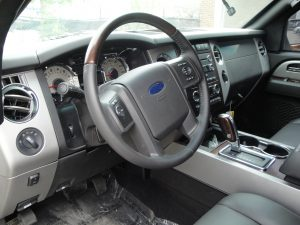 TAG Armored Ford Expedition Driver Interior Cockpit