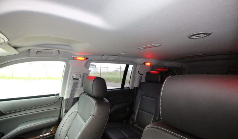 TAG Discreet Armored Suburban Interior Roof Top View Red Lights