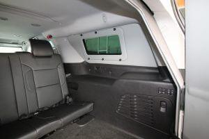 TAG Discreet Armored Suburban Rear Seat Interior Wall Panel Proof