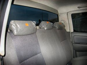 TAG Armored Toyota Hilux Rear Seats