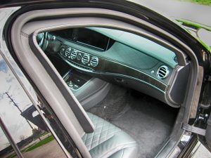 TAG 2012 Armored Mercedes S550 Passenger Dashboard