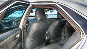 TAG Armored Toyota Camry Rear Interior