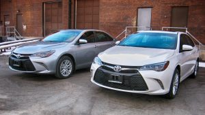 TAG Armored Toyota Camry Two Front