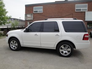 TAG Armored Ford Expedition Driver Side