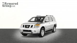 TAG Armored Nissan Armada Front