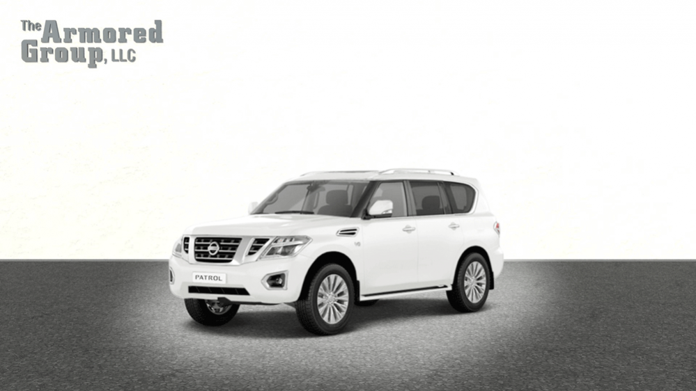 Armored Patrol Bulletproof Nissan Suv The Armored Group