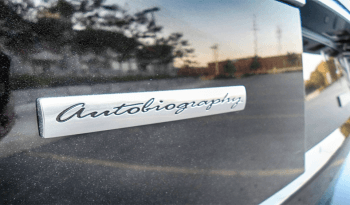 Bulletproof Range Rover Autobiography logo on outside of black SUV