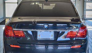 TAG Armored 750 BMW Rear