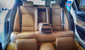 TAG 2012 Armored S80 Volvo Rear Interior
