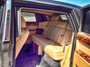 TAG Armored Rolls Royce Phantom Rear Interior