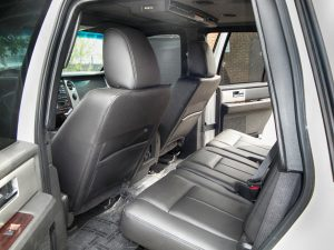 TAG Armored Ford Expedition Rear Interior