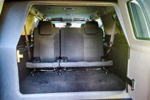 TAG Discreet Armored Suburban Rear Seats Backwards