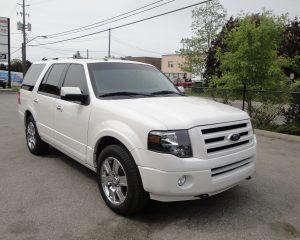 TAG Armored Ford Expedition Passenger Front Corner