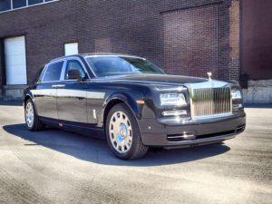 TAG Armored Rolls Royce Phantom Passenger Front Corner