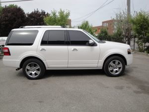 TAG Armored Ford Expedition Passenger Side
