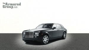 TAG Armored Rolls Royce Phantom Driver Front Corner
