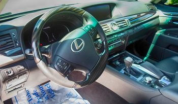 Armored Lexus LS steering wheel with professional interior finishing
