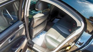TAG Interior of armored Lexus LS sedan photo