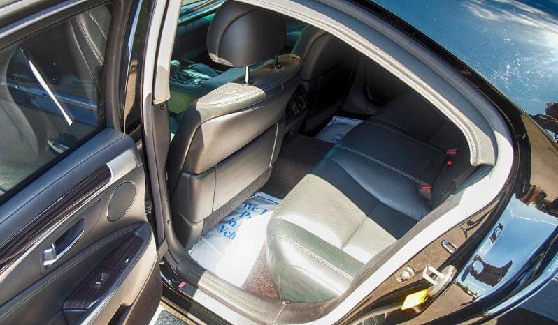 Interior of armored Lexus LS sedan photo