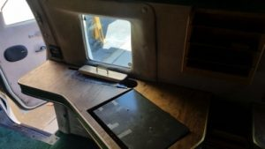 TAG 1992 Armored Ford E350 Door Open Bullet Proof Window