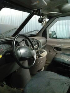 TAG 1999 Ford E250 Driver Side View Steering Wheel Seats Dashboard