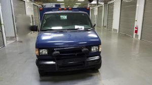 TAG 2002 Ford E250 Front Grille Windshield