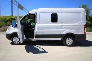 TAG Ford Transit 250 CIT Driver Door Open