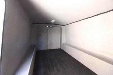 TAG Ford Transit 250 CIT Long Interior View Rear Doors