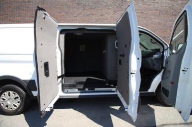 TAG Ford Transit 250 CIT Passenger Side Three Doors Open