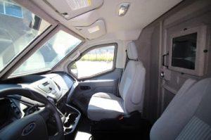TAG Ford Transit 250 CIT Driver View Passenger Seat