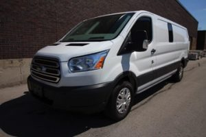 TAG Ford Transit 250 CIT Driver Front Corner View