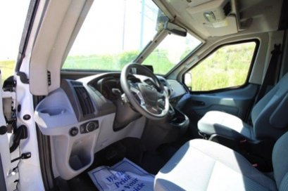 TAG Ford Transit 250 CIT Driver View Cockpit Steering Wheel