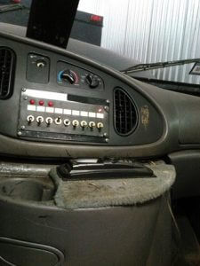 TAG 1999 Ford E250 Center Console Switch Controls