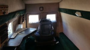 TAG 1992 Armored Ford E350 High View Of Interior Space Cage