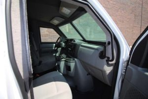 TAG Ford E250 CIT Passenger Door Open Dashboard Side View
