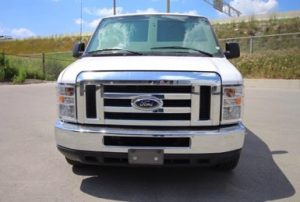 TAG Ford E250 CIT Front Grille Chrome Windshield