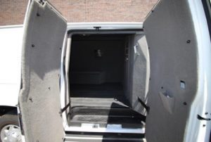 TAG Ford E250 CIT Side Doors Open Interior View