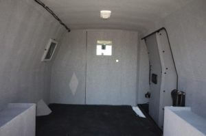 TAG 2015 GMC Savana 2500 Cargo Van Interior Space