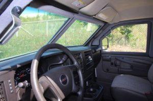 TAG 2015 GMC Savana 2500 Cargo Van Driver Side View Steering Wheel Dashboard