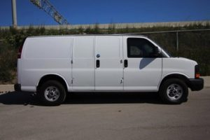 TAG 2015 GMC Savana 2500 Cargo Van Passenger Side View