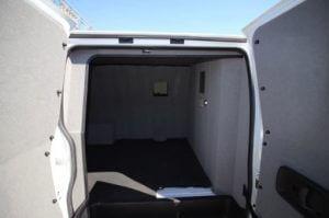 TAG 2015 GMC Savana 2500 Cargo Van Rear Doors Open Interior View